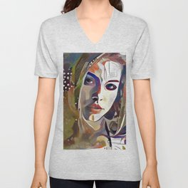 Abstraction of Dreams Unisex V-Neck