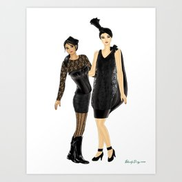 Fashion Journal: Day 20 Art Print