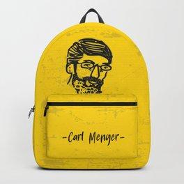 Carl Menger Illustration Backpack