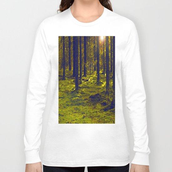 Green Forest Long Sleeve T-shirt
