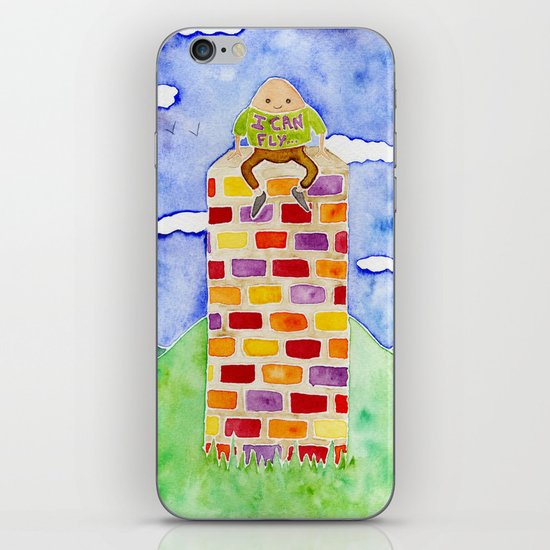 Humpty Dumpty - Before The Fall iPhone & iPod Skin