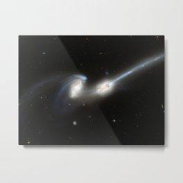 Galaxy merger Metal Print