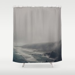 The Moody Days 6 Shower Curtain