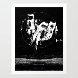 Frost Design Studio - Space Suiter Art Print