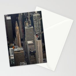 Michigan Avenue Bridge: A Bird's Eye View (Chicago Architecture Collection) Stationery Cards