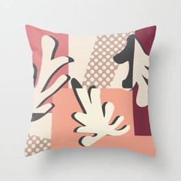 Finding Matisse pt.1 #society6 #abstract #art Throw Pillow