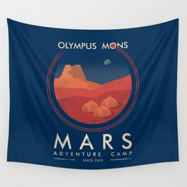 Mars adventure camp Wall Tapestry