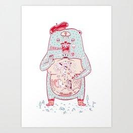 Beatnikbeast Art Print