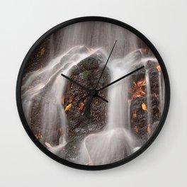 Avalon Falls Close-up Wall Clock