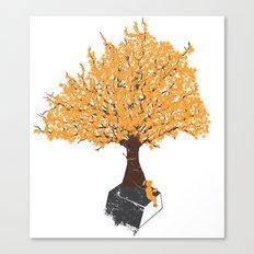 Tree of Knowledge Canvas Print