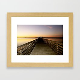 dock Framed Art Print