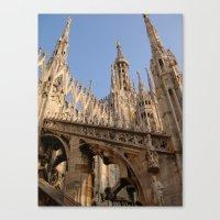 milan Canvas Prints featuring Milan by Alan Wong