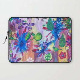 Live Gently Upon This Earth Laptop Sleeve
