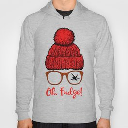 Oh Fudge Funny Christmas Hoody
