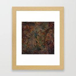 Winter's Gold Framed Art Print