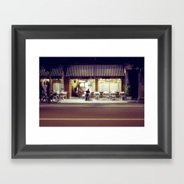 Paris by Night IV Framed Art Print
