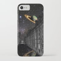 saturn iPhone & iPod Cases featuring Saturn by Cs025