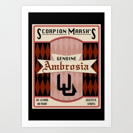 Fictional Brews - Ambrosia Art Print