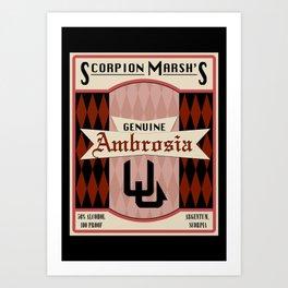 Fictional Brews - Ambrosia Art Print
