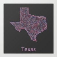 texas Canvas Prints featuring Texas by David Zydd