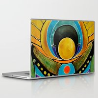 stargate Laptop & iPad Skins featuring SUNRISE by Deyana Deco