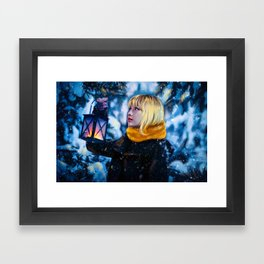 BlackPink winter Framed Art Print