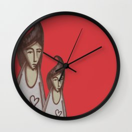 Love, Peace, YEAH! Wall Clock