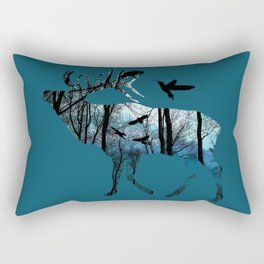Forest Spirit - Blues Rectangular Pillow
