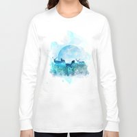 twilight Long Sleeve T-shirts featuring Twilight by Lynette Sherrard Illustration and Design