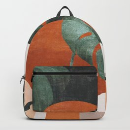 Abstract Art / Plants Backpack