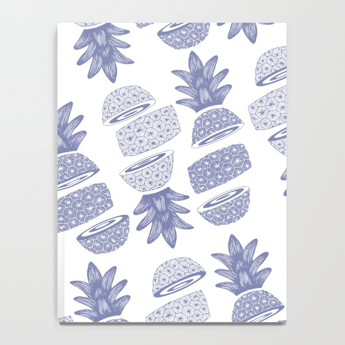 Pineapples (Light/Sliced) Notebook