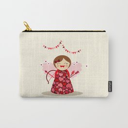 Petite Cupidon Carry-All Pouch