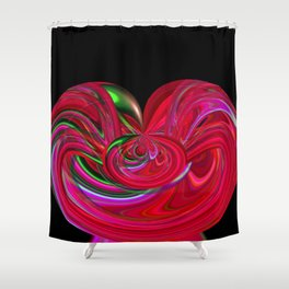 Eddies In The Etheric v.3 Shower Curtain