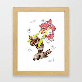 CutOuts - 13 Framed Art Print