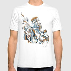 The Maiden SMALL White Mens Fitted Tee