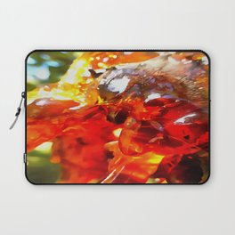 Apricot Resin Abstract Laptop Sleeve