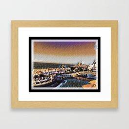 Colorful Cabo Framed Art Print