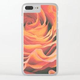 Le pétale de rose Clear iPhone Case