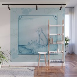 Lonely Dog Wall Mural
