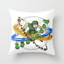 The Cabbatar Throw Pillow