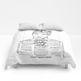 Dan Aykroyd Tattooe'd Ghostbuster Ray Stantz Comforters