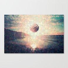 Triangle Sun Canvas Print