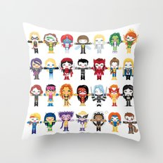 WOMEN WITH 'M' POWER Throw Pillow