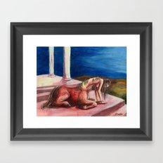 Centaur Dream Framed Art Print