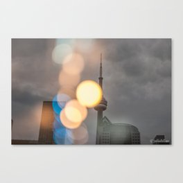 Toronto is Home Canvas Print
