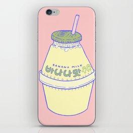 Banana Milk iPhone Skin