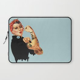 Tattooed Rosie the Riveter Laptop Sleeve