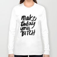 motivation Long Sleeve T-shirts featuring Motivation by Motivational