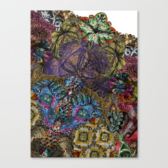 Psychedelic Botanical 8 Canvas Print