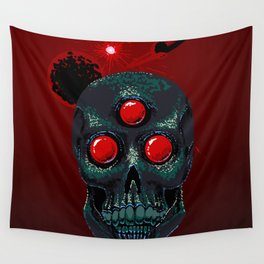 Horror From Beyond Time and Spaaaaaaace! Wall Tapestry